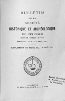 BSHAP 1964 Centenaire de la préhistoire<br /><br />