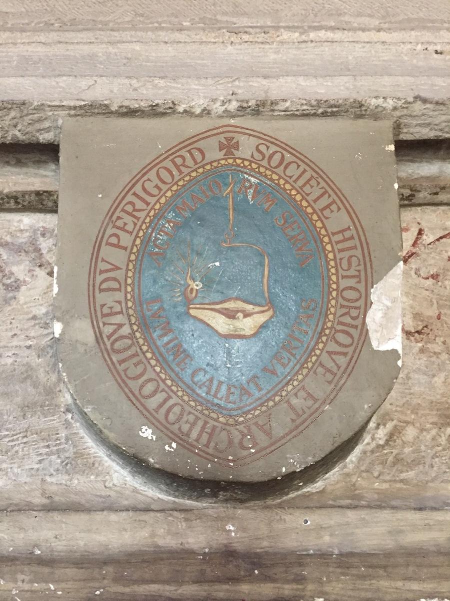 Blason SHAP maison romane
